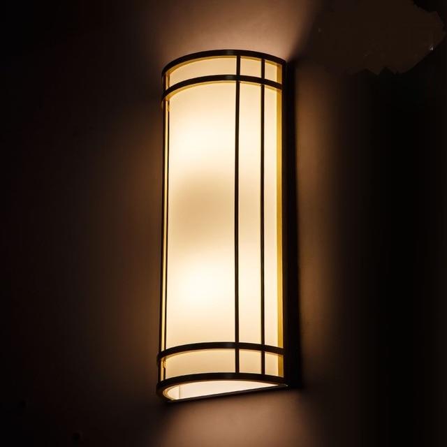 Moderno e minimalista LED lampade da parete camera da letto ...