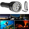 Diving flashlight diving 100 meters underwater photography fill light diving torch with white and violet 2 can choose