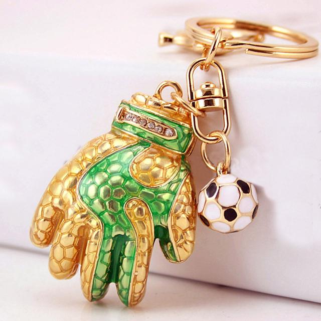 Football Glove Key Chain