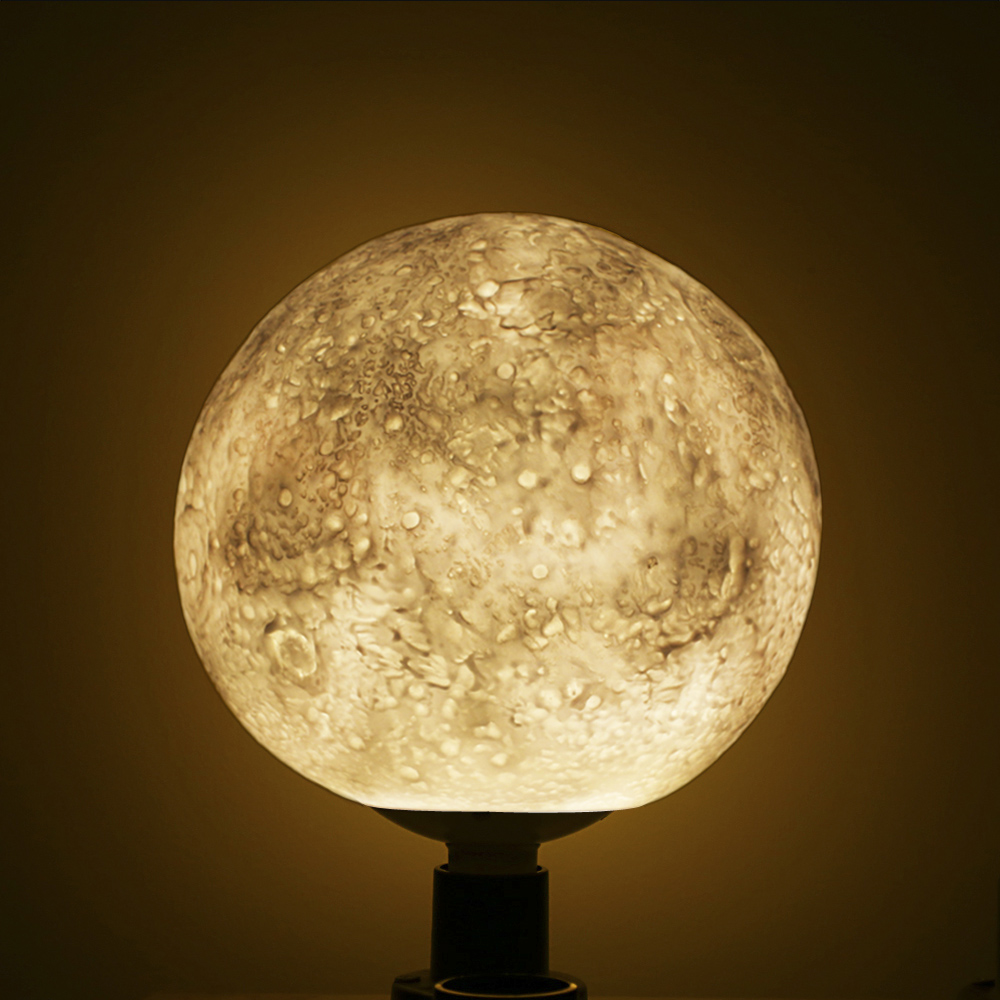 3D Magic Moonlight Led Lights For Coffee Shop Creativity Lighting 3D Led Magical Moon Pendant Light Bedroom Office Decoration