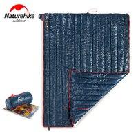 Naturehike Ultra light down sleeping bag adult outdoor camping Goose down Square sleeping bag warm