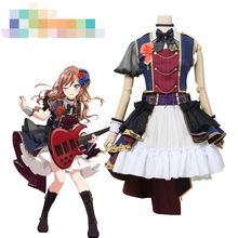 Anime Cosplay Costume BanG Dream 7th-LIVE Roselia Imai Lisa Lolita Dress Z