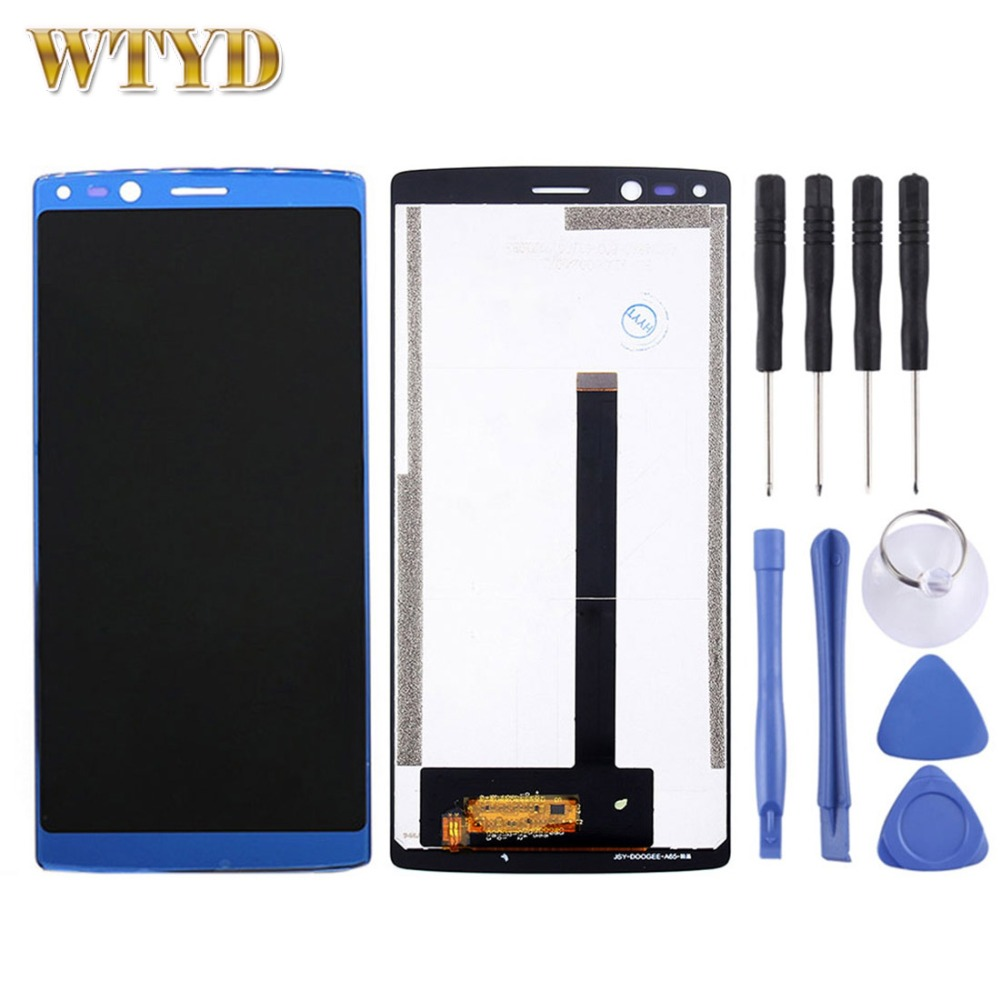 Original DOOGEE MIX 2 LCDs Display Screen Touch Screen Digitizer Assembly for DOOGEE MIX 2 Smartphone