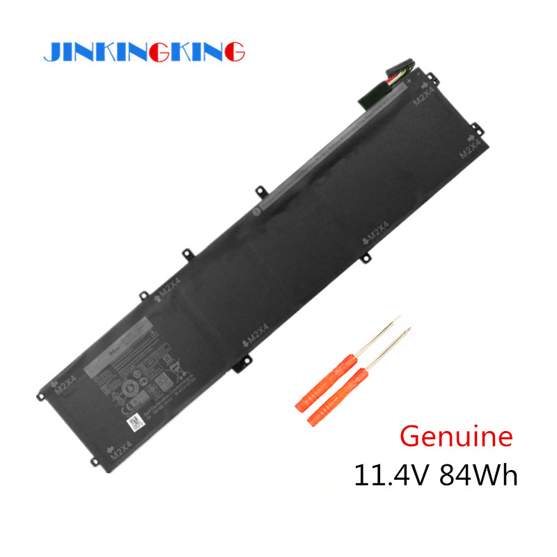 11.4V 84WH New original 4GVGH Laptop Battery for DELL Precision 5510 XPS 15 9550 series 1P6KD T453X image