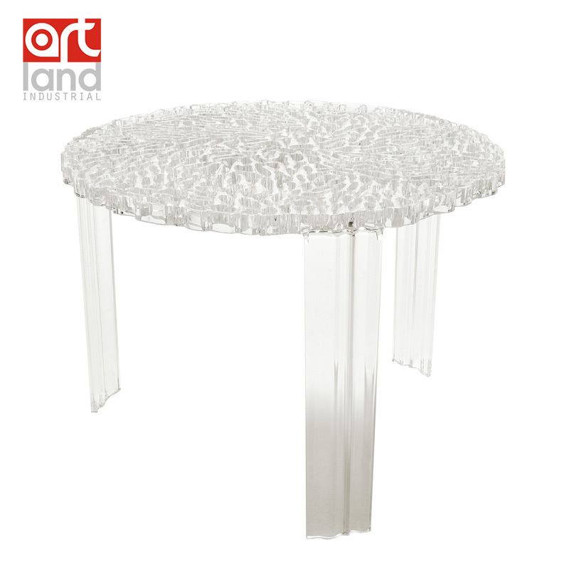 Molded Plastic Coffee Table, Transparent Clear Teapoy, Tea Table, Color( Clear,Smoke,Brown) Door To Door Shipping By EMS In Coffee Tables From  Furniture On ...