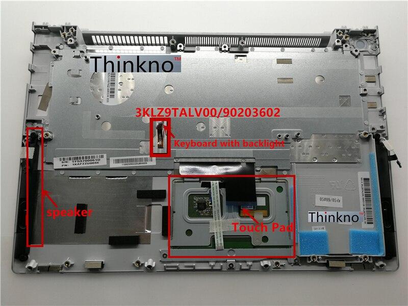 新レノボ Ideapad U430 U430P Us キーボード + タッチパッドのバックでパームレストトップケース大文字シルバーまたは黒  グループ上の パソコン & オフィス からの ノートパソコン修理部品 の中 3