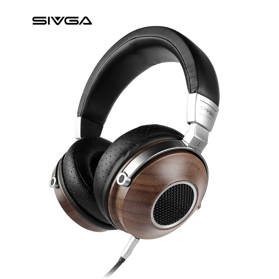 sivga sv007 over ear headphones with microphone mp3 bass hifi stereo professional headband. Black Bedroom Furniture Sets. Home Design Ideas
