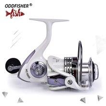 1000-7000 серия спиннинговая катушка 13+ 1BB 5,2: 1 спиннинговая Рыболовная катушка с алюминиевой катушкой автоматическая складная для морского рыболовного колеса