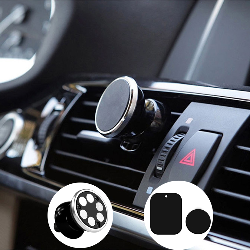 Real 6 magnets car magnetic phone holder for Iphone Holder Samsung Stand Display Support GPS Magnet Mobile iPhone standers
