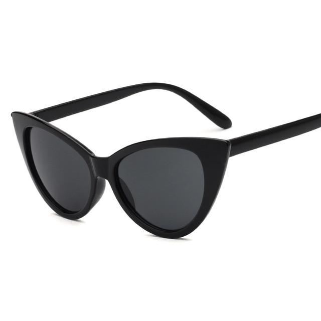 Новая мода Cat Eye солнцезащитные очки Для женщин Брендовая Дизайнерская обувь Винтаж Солнцезащитные очки женские солнцезащитных Óculos де Sol женские очки