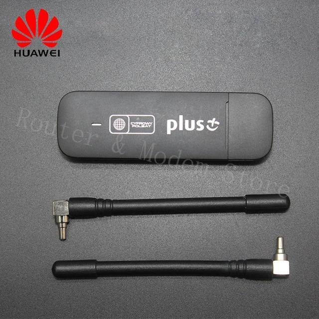 Unlocked 4G Modem Huawei E3372 E3372s 153 LTE USB Dongle Stick Datacard  Mobile Broadband Modems With Antenna SIM Slot