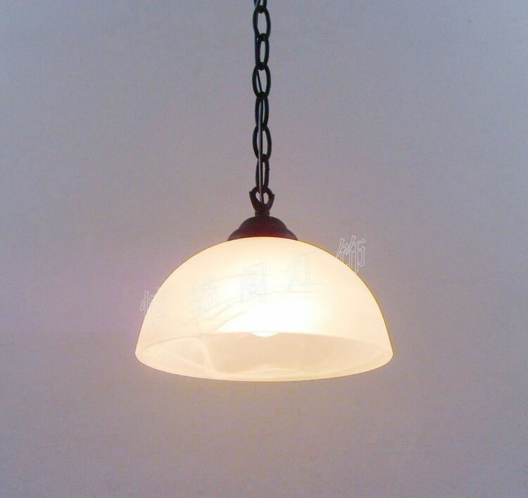 Single pendant light brief fashion bar pendant light entrance lights wrought iron pendant lamp