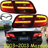 Mazd6 Taillight Sedan Car 2003 2013 Free Ship LED 4pcs Set Mazd6 Rear Light Mazd6 Fog