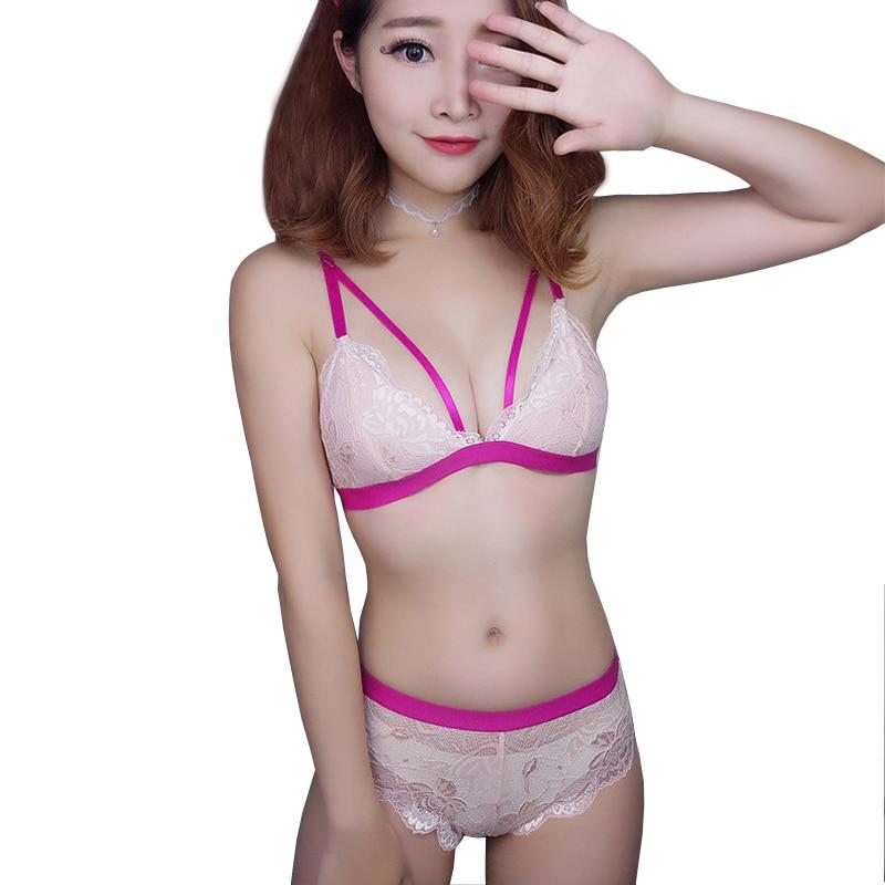 bc88a8cd251 Aliexpress Com Buy Mingmo 2017 Sexy Small Girl Bra Set ...