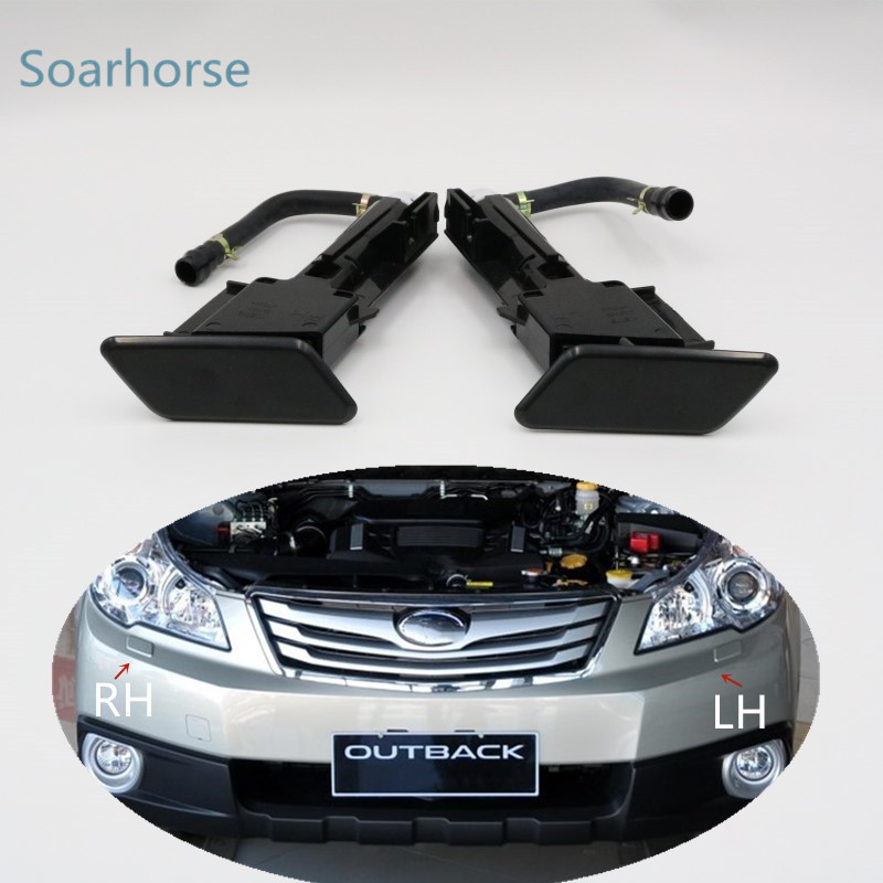 For Subaru Outback 2010 2011 2012 Car Headlight Water Spray Nozzle Assy Headlamp Washer Nozzle With Cover Cap