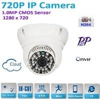 720P 960P MegaPixel HD CCTV IP Dome Camera