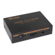 Wiistar HDMI Audio Extractor HDMI to HDMI Optical SPDIF + RCA L / R HDMI Audio Splitter Converter 2CH 5.1CH цена и фото