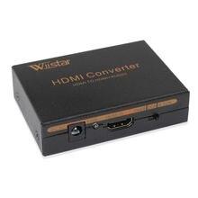 Wiistar hdmi аудио экстрактор к Оптический spdif + rca l / r