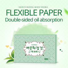100 Sheets Refreshing Oil Blotting Leaves Oil-Absorbent Paper Control Film Cosmetic Tools Suction Clean