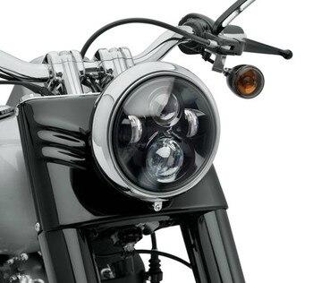Harley Motorcycle Accessories 7 in. Daymaker Projector LED Headlamp For Harley FLS, FLSTC, FLSTF, FLSTFB, FLSTN Touring Trike harley davidson headlight price