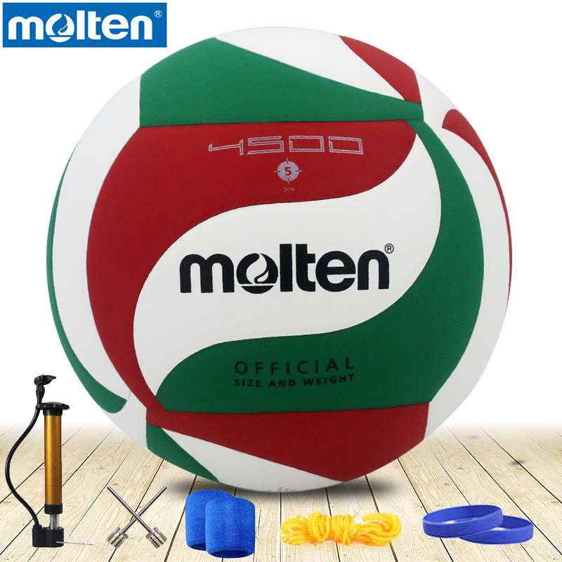 Original Molten Volleyball  V5M4500 NEW Brand High Quality Genuine Molten PU Material Official Size 5 Volleyball