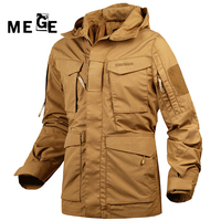 MEGE Jaqueta Masculino Inverno M65 UK US Army Clothing, Military Hunting Hiking Windbreaker Hoodies, Typhon Casaco Masculino