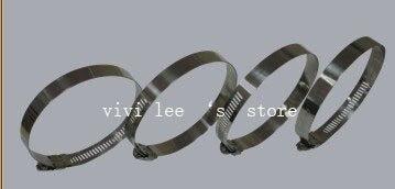 8 шт./лот хомут шланга червячный хомут зажимы из нержавеющей стали 2,05 ''-3'' универсальный для автомобиля воздушный фильтр трубка воздухозаборника