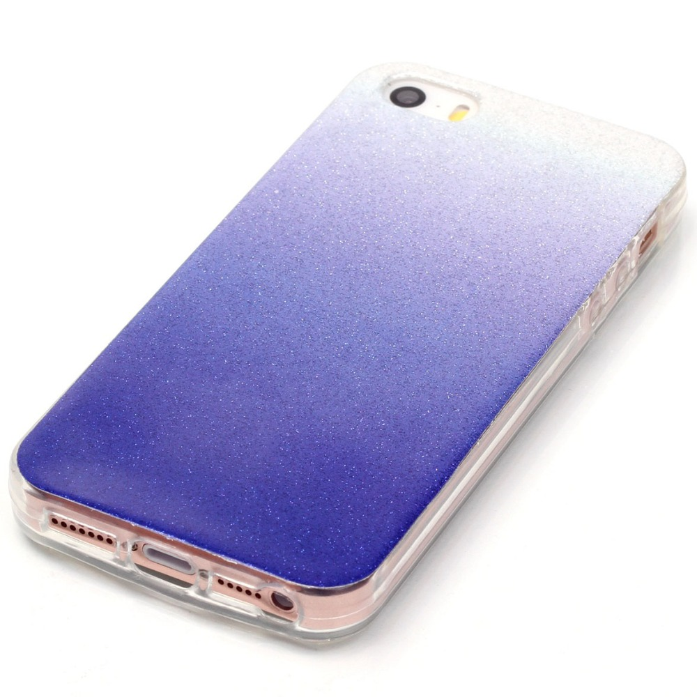 Color change online - Beautiful Thin Glitter Gradient Change Color Case Soft Imd Tpu Back Phone Cover Capa Para Coque