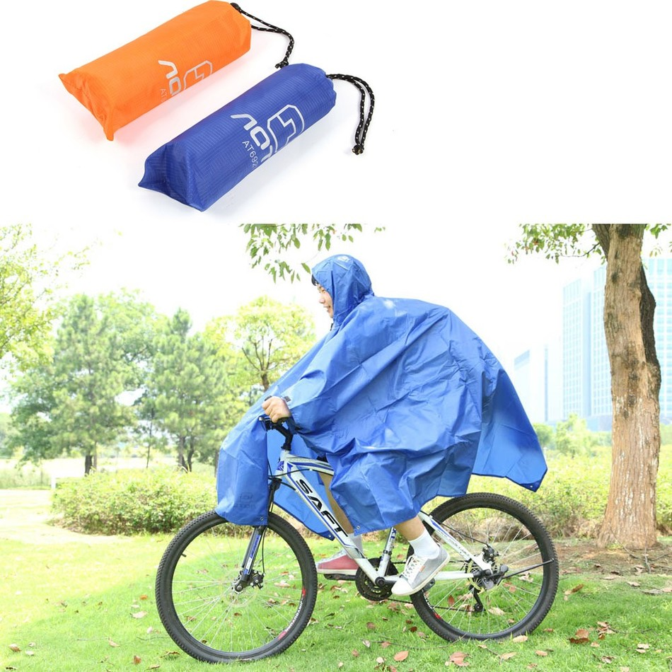 Outdoor Multifunctional 3in1 Travel Rain Poncho Backpack Rain Cover Waterproof Tent Awning Climbing Camping Hiking