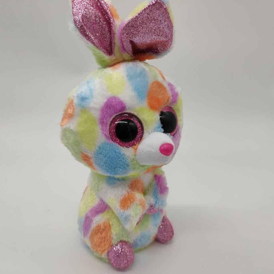 Блуми многоцветный кролик TY бини Боос 1 шт. 25 см плюшевые игрушки мягкие животные Детская игрушка мягкая игрушка для декора дома