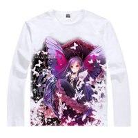 أكسل العالم t-shirt kuroyukihime قمصان قميص بارد تي شيرت أنيمي الملابس لطيف جميل kawaii اليابانية الصيف coolprint