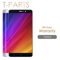 Tested ONE BY ONE 5 7 Display For Xiaomi Mi5S Plus LCD Display Touch Screen Replacement