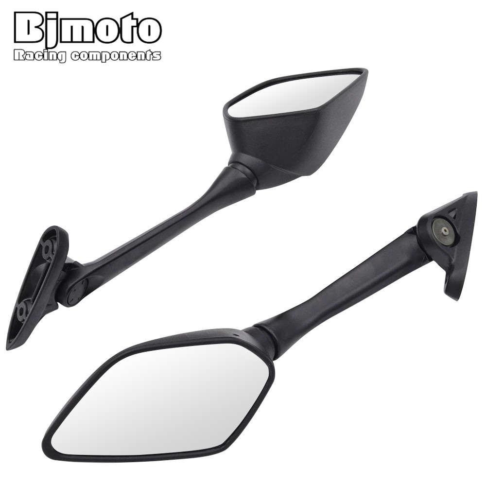 BJMOTO Motorcycle Mirrors Motorbike Scooter Side Rear View Mirror Rearview Mirror For Yamaha YZF R3 R25 2013-2017 недорго, оригинальная цена