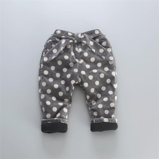 La nueva chica con pantalones de punto niño del todo-fósforo pantalones de cachemir gruesa invierno