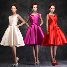cfc22a4649f Short Bridesmaid Dresses Summer style New 2018 fashion red formal long  design elegant logon vestidos dresses gown evening dress