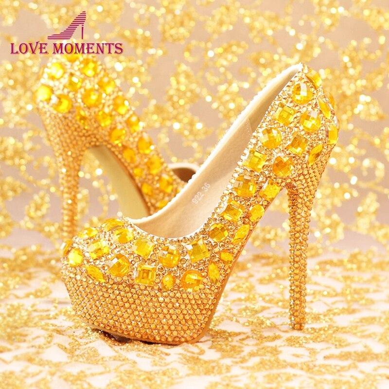 2018 New Fashion Luxury Rhinestone T Show Model High Heels Women Pumps Spring Diamond Wedding Shoes Platforms Prom Party Shoes shoes women high heels sexy wedges platforms glitter diamond shoes wedding shoes rhinestone heels party shoes pumps