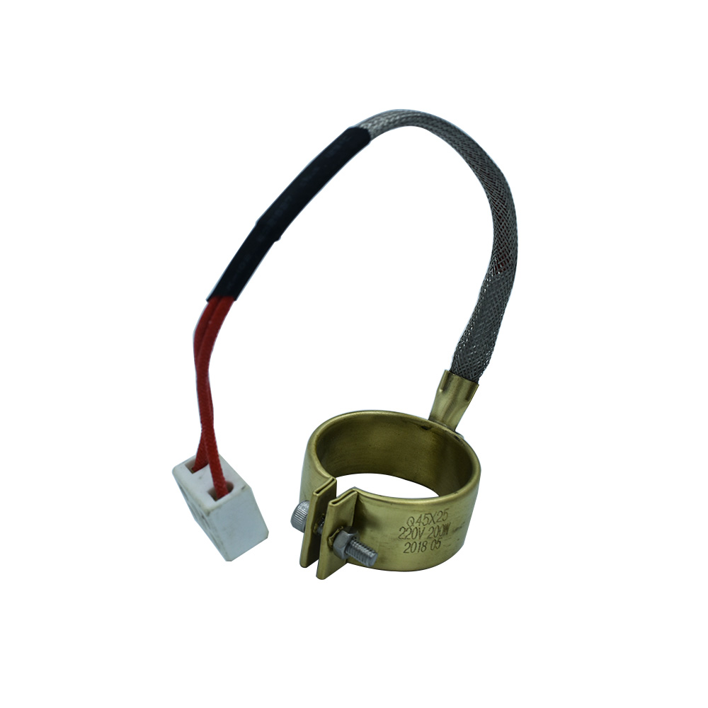 40x40mm Brass Band Heater 40mm Inside Diameter 40mm Height 110V 220V 380V 200W Heating Element for Injection Molding Machine in Solar Controllers from Home Improvement