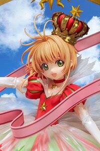 Image 3 - Japanese Anime Card Captor Sakura 15 YEARS Anniversary Kinomoto Sakura Crown 1/7 Scale Action Figure Doll Toy Gift CHN VER. New