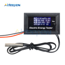 купить DC 120V 20A LCD Current Meters Digital Voltmeter Ammeter Voltage Wattmeter Tester Indicator Monitor Power Energy Meter Tester по цене 310.85 рублей