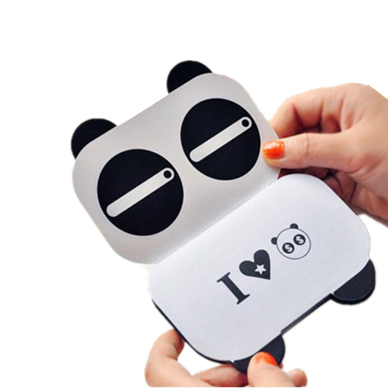 1Pcs/lot Cute Panda Design Notebook Korean Stationery Modeling Books Financial Management Notes Book DIY Memo For Office