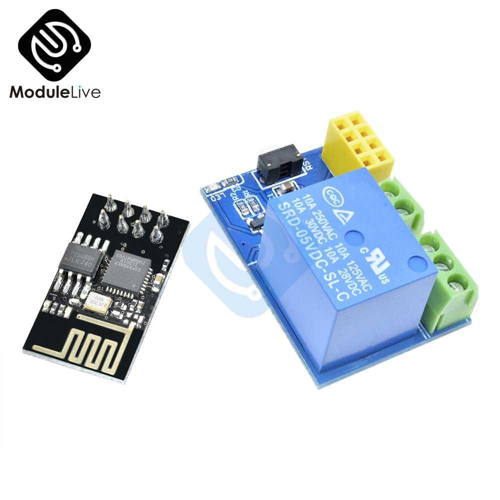 5V ESP8266 ESP-01 módulo de relé Wifi App Control remoto interruptor de relé IOT ESP01 inalámbrico para Arduino Smart Home Internet de las cosas
