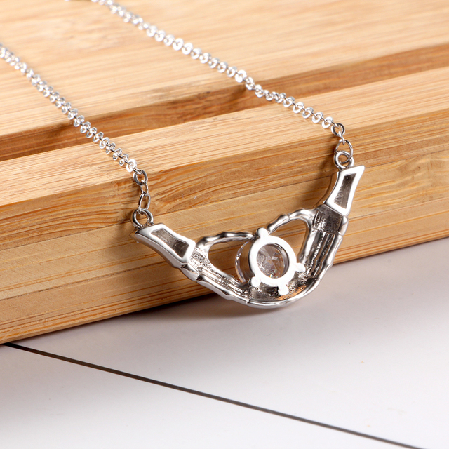 Kemstone Hip Hop AAA CZ Necklace Pendants Skull Non-mainstream Women's Accessories