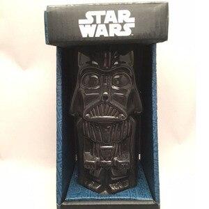 NEW Star Wars Cup Darth Vader White Knight Stormtrooper 3D Human Body Mugs Creative BB - 8 Robot Coffee Milk Mugs Kids Gift(China)