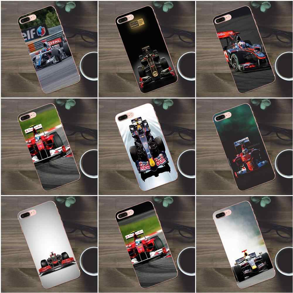 Bixedx Formula 1 Cars Vehicles Soft Best Cases For Huawei G8 Honor 5C 5X 6 6X 7 8 9 Y5II Mate 9 P7 P8 P9 P10 P20 Lite Plus 2017
