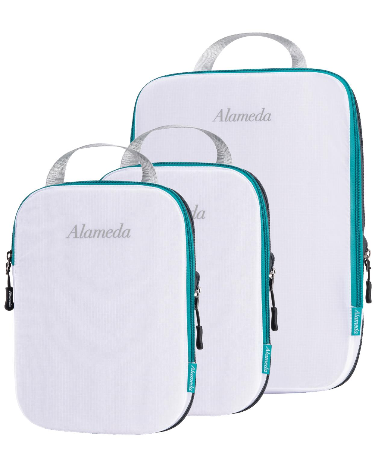 New Diaper Bag Inner Container Travel Packing Organizers 3pcs Compression Packing Cubes for Carryon Luggage Baby Care Outdoors wall shelf for tea pots