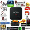 JUSHENG [Free I8 keyboard] MXIII Quad Core Amlogic S812 Cortex A9 2GB/8GB Android 4.4 TV Box Wifi 4K 3D Streaming Media Player