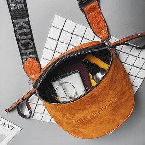 Image 4 - Сумка кросс боди для женщин, сумки мессенджеры из искусственной кожи, сумка на плечо, модное седло знаменитого бренда для леди, 2020