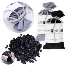 Автомобильный домашний поглотитель запаха, бамбуковый уголь, активированный уголь, освежитель воздуха, дезодорант, разные цвета, активированный бамбуковый уголь