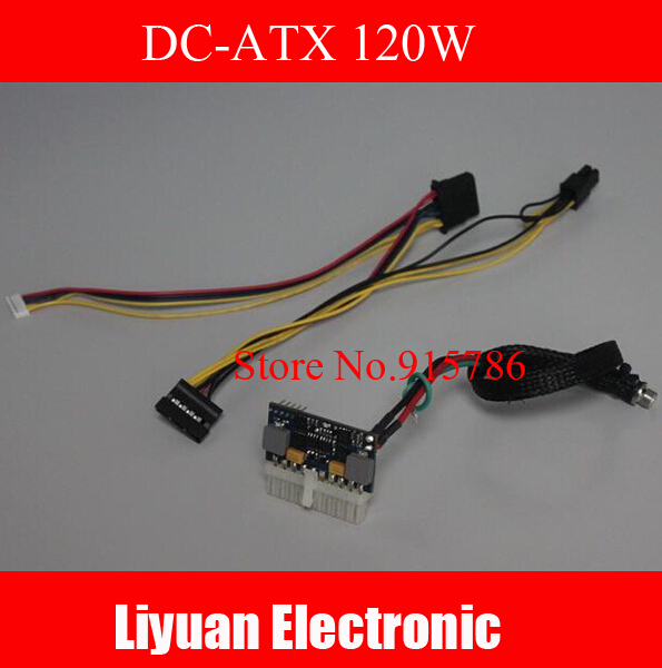 New DC-ATX Power Supply / DC-ATX 150W power supply module 20PIN picoPSU Free Shipping
