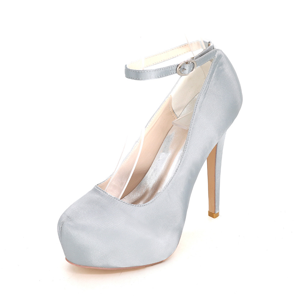 Online Buy Wholesale grey silver heels from China grey silver ...